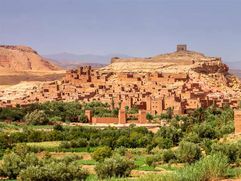 Goinf to Ouarzazate and Morocco desert